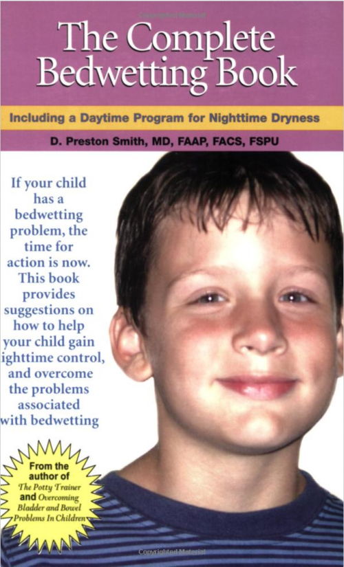bedwetting book