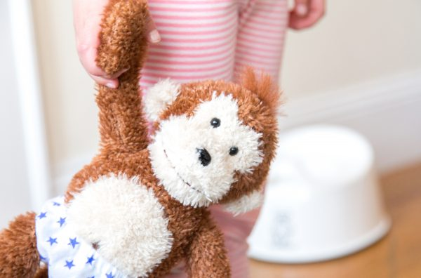 Potty Monkey doll