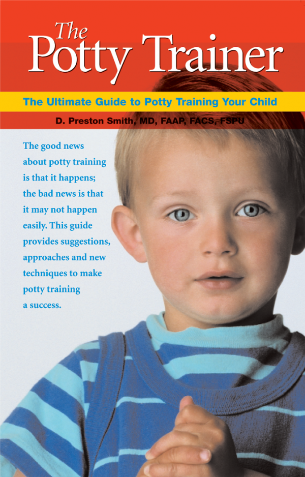 The Potty Trainer book, comprehensive guide for parents to understand potty training and find a suitable method to use with their child.
